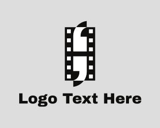Quote - Film Quotes logo design