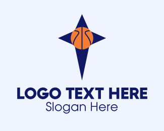 Sports Technology - Basketball Star  logo design
