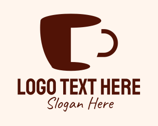 Americano - Coffee Cup Cafe logo design
