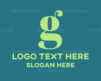 Letter G - Mint Letter G logo design