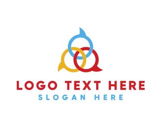 Speak - Speech Bubbles logo design