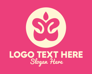 Lifestyle - Feminine Yoga Spa logo design