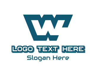 Simple - Letter W logo design