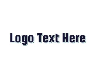Hard - Bulky & Blue logo design