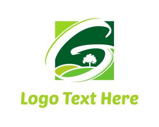 Field - Green Fields logo design