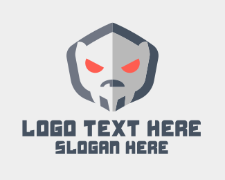 Angry - Angry Alien  logo design