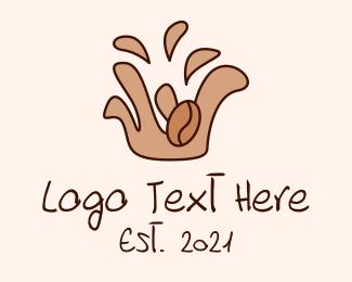 Espresso - Coffee Bean Espresso logo design