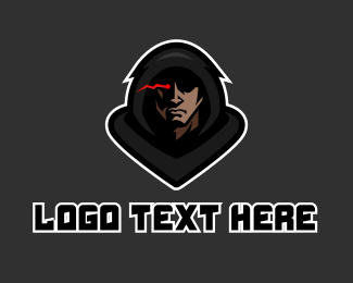Fiction - Hood Strange Man logo design