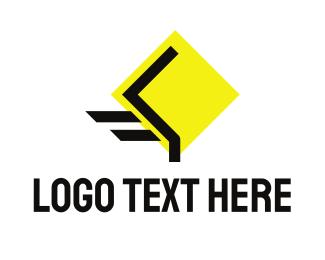 Transport - Fast Road logo design