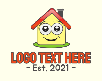 Learn - Happy House logo design
