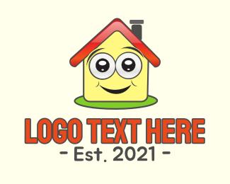 Educate - Happy House logo design