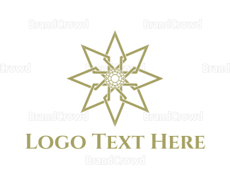 Dinnerware - Golden Star logo design