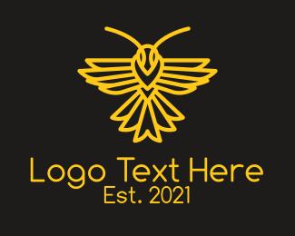 Logistics - Golden Bee Logistics  logo design