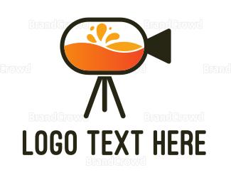 Smoothie - Fresh Film logo design
