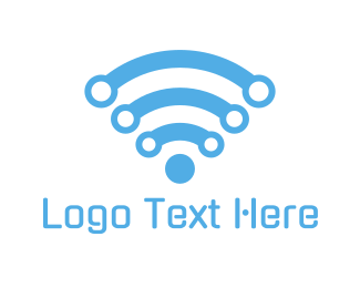 Wireless - Wifi Technology logo design