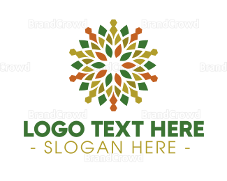 Buddhism - Ornamental Mandala  logo design