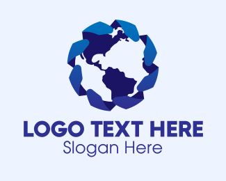 Business - International Globe Company  logo design