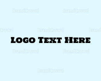 Bold - Vintage Bold Stencil  logo design