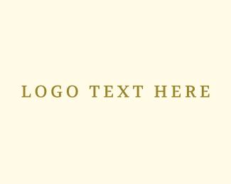 Classic - Gold Classic logo design