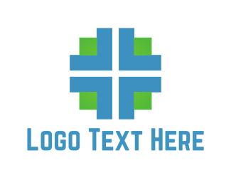 Plus - Medical Cross logo design