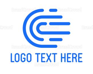 Connection - Fast Connection logo design