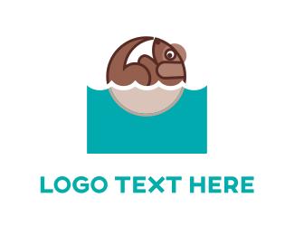 Doggy - Dog Wash logo design