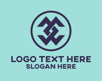Double Letter C Brand  Logo