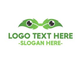 Geek - Eco Eyeglasses logo design