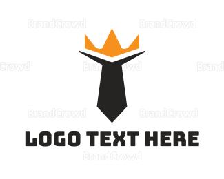 Coat - King Tie logo design