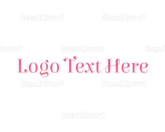 """""""Pink  & Curly """" by BrandCrowd"""