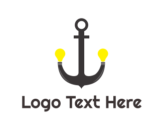 Seaman - Anchor Lighting logo design