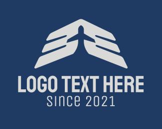 Aviation - Airplane Wings Aviation logo design