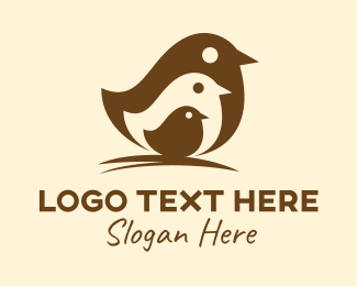 Family - Bird Family  logo design