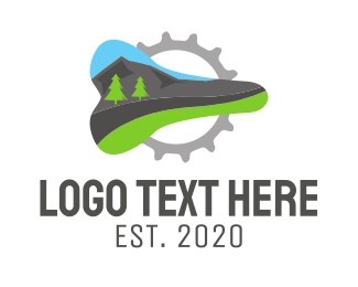 Seat - Mountain Bike logo design