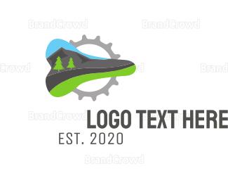 Bicycle - Mountain Bike logo design