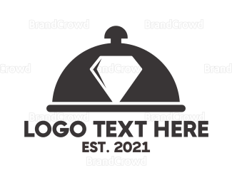Cloche - Diamond Food logo design