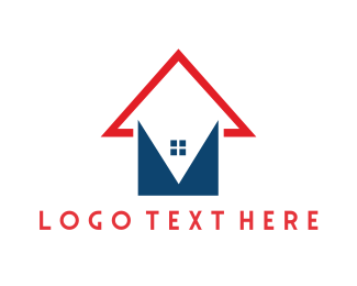 Arrow - House Arrow logo design