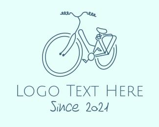 Bike - Minimalist Utility Bike logo design