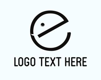 Baby - Cute Letter E logo design