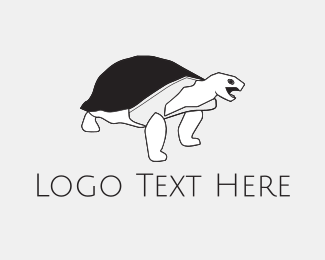 Turtle - Black Tortoise logo design