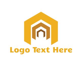 Gate - Golden Doors logo design