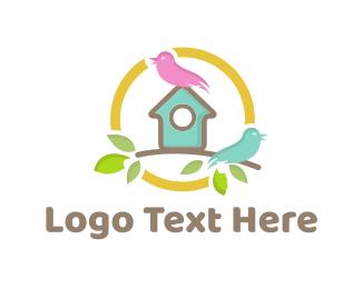 Tree House - Bird House logo design