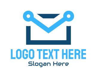 Mail - Mail Technology logo design