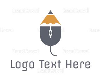 Research - Mouse Pencil  logo design
