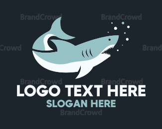 Great White Shark Logo Maker