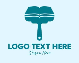 Guide - Cleaning Guide Book logo design