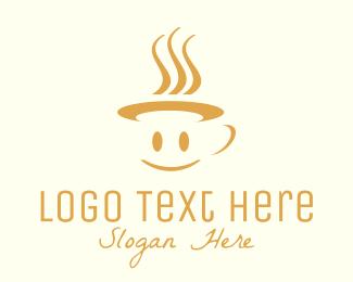 Coffee - Happy Mug logo design