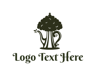 Tea - Tea Tree logo design