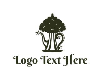 Tea - Tea Tree logo design
