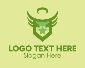 Rank - Army Star Emblem logo design